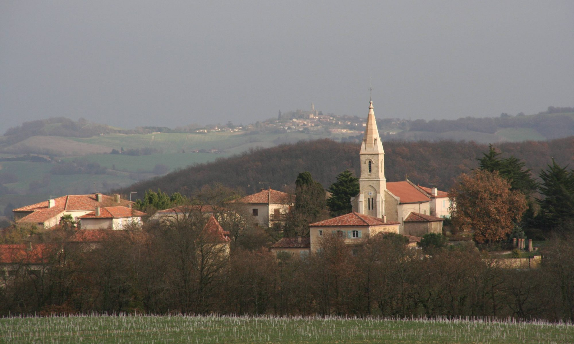 commune  de  Castin (Gers)